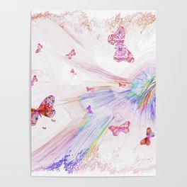"""""""Flash Dream ~ Butterflies"""" Poster"""