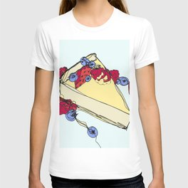Cheesecake with Toppings T-shirt