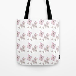 Dogwood Pattern Tote Bag