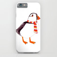 Puffin has a scarf  Slim Case iPhone 6s