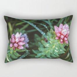 Dos Floras Rectangular Pillow