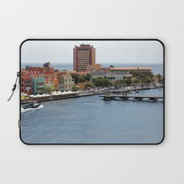 Busy Willemstad from Above Laptop Sleeve