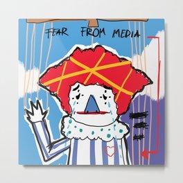 Life of a Clown Metal Print