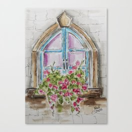 Regal Window Canvas Print