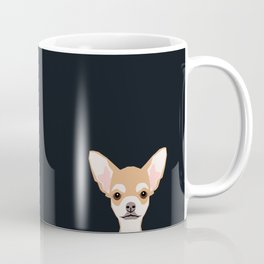 Misha - Chihuahua art print phone case gift for dog owner and dog people Coffee Mug