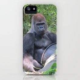 Gorilla Says iPhone Case