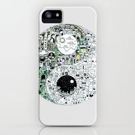Ying Yang iPhone Case