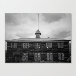 School House Canvas Print