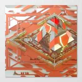 Cherry Transmitter Canvas Print