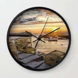Lanes cove sunset last night 5-20-18 Wall Clock