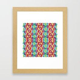 Number Crunching Framed Art Print