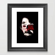 I Kill The Bus Driver. Framed Art Print