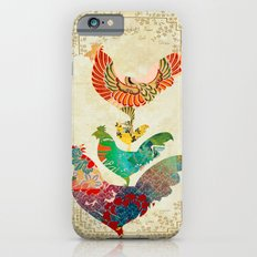 Chinese Lunar New Year and 12 animals  ❤  The ROOSTER 雞 iPhone 6s Slim Case
