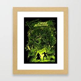Gigantic Entity Framed Art Print