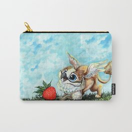 Strawberry Griffin Carry-All Pouch