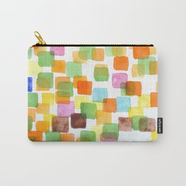 First Squares Pattern  Carry-All Pouch
