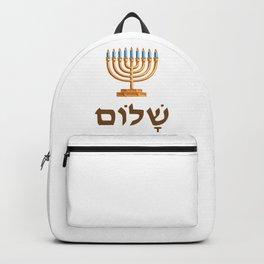 hanukkiyah | Jewish Hannukka Celebration Backpack
