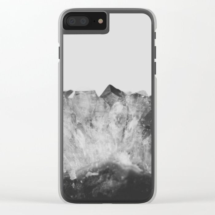Crystal Soul Geode Clear iPhone Case