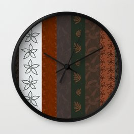 Earthly Elements Wall Clock