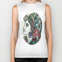 gypsy Biker Tanks featuring Gypsy by David Ansted, Kosoof.