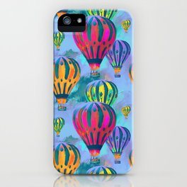 Keep your head in the Clouds iPhone Case