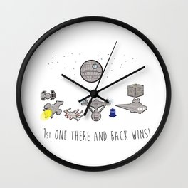The Great Space Race Wall Clock