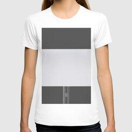 White Sign Grey T-shirt