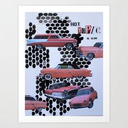 Hot Topic Art Print