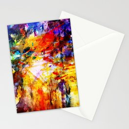 color bombs Stationery Cards