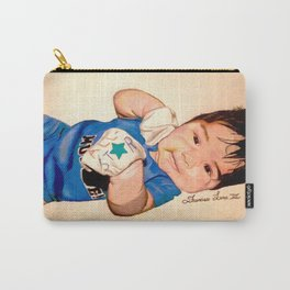 Baby Portrait Carry-All Pouch