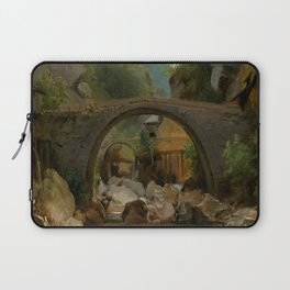 Thedore Rousseau Mountain Stream Laptop Sleeve
