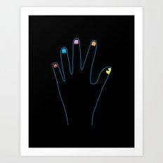 Spirit Fingers Art Print