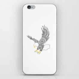 Eagle Circle Art iPhone Skin