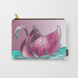 Swan Song in Technicolor Carry-All Pouch