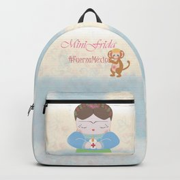 Fuerza Mexico by Mini Frida Backpack