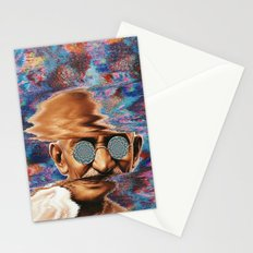 Psychedelic Gandhi Stationery Cards