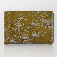 shells iPad Cases featuring Shells by ANoelleJay