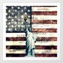 Vintage Patriotic American Liberty by politics