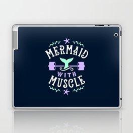Mermaid With Muscle Laptop & iPad Skin