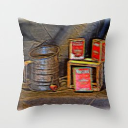 Country Spices Throw Pillow