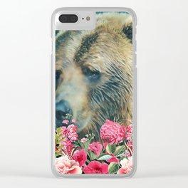 Summer Garden 3 Clear iPhone Case