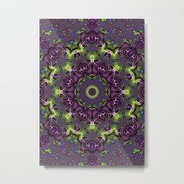 Acid Trip Fractal Kaleidoscope 1 Metal Print