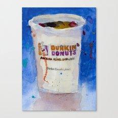 Dunkin' Donuts Canvas Print