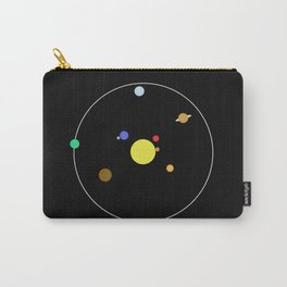 Solar System - Minimalism Abstract Pastel Colours Carry-All Pouch