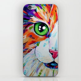 Cats in Colour 3 iPhone Skin