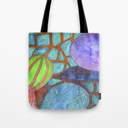 Still Life with Eggplant Tote Bag