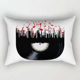 City Music Rectangular Pillow