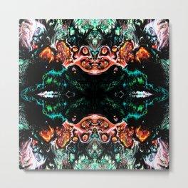 Dark Abstract art Metal Print