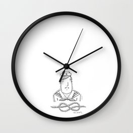 Dave The Sailor Wall Clock