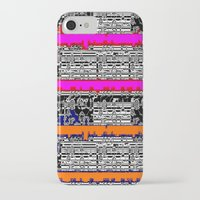 data iPhone & iPod Cases featuring DATA by lucborell
